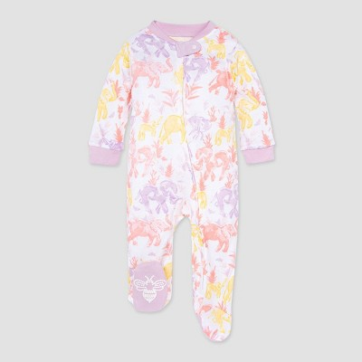 Burt's Bees Baby® Baby Girls' Elephant Sleep N' Play - Purple