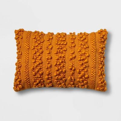 Lumbar Loop Stripe Pillow Orange - Opalhouse™
