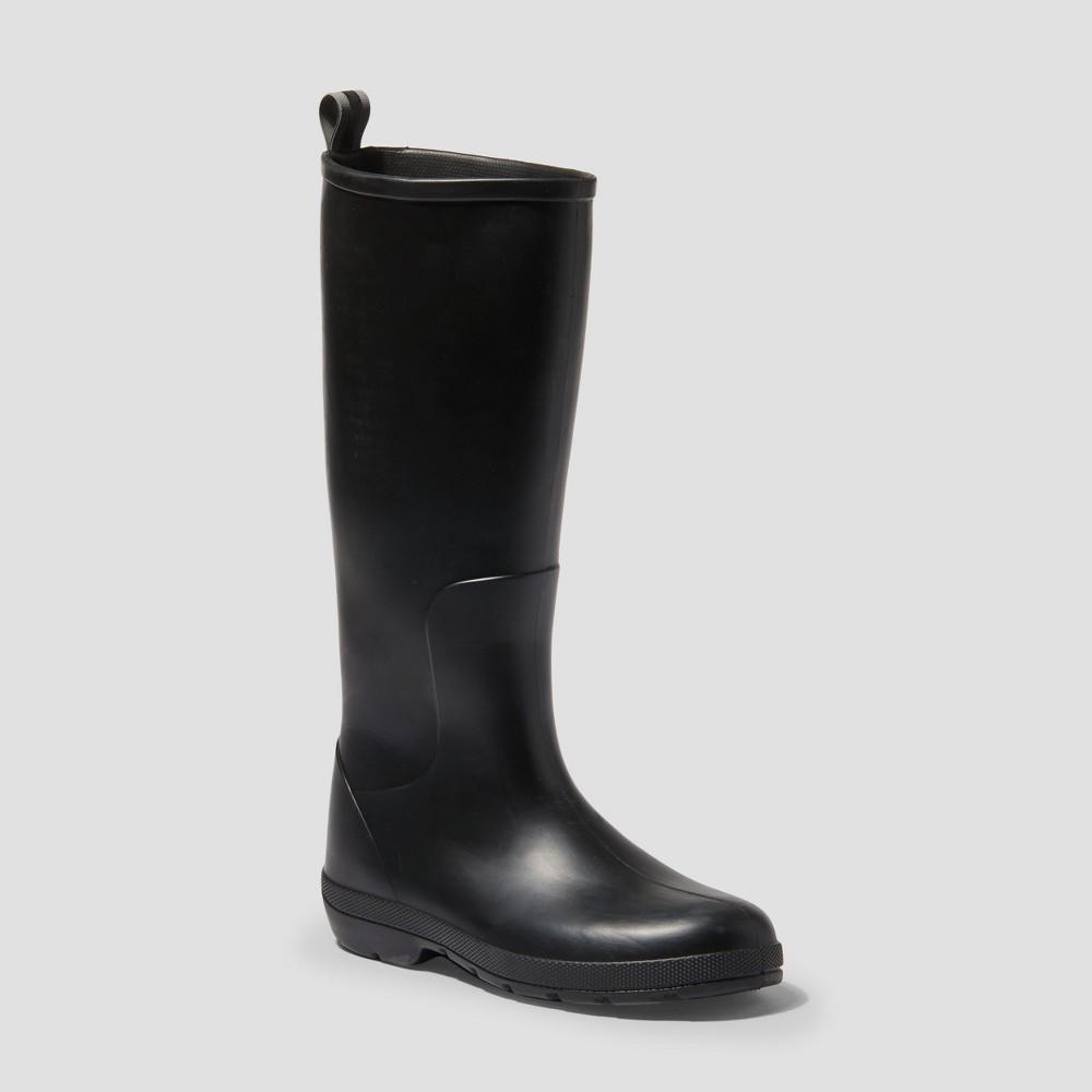 Women S Totes Cirrus Claire Tall Rain Boots Black 11