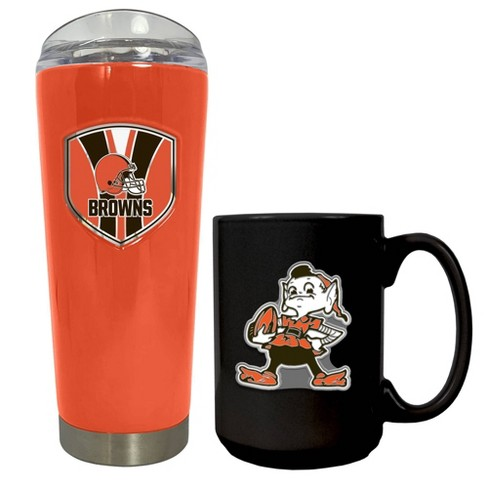 NFL Cleveland Browns Roadie Tumbler and Mug Set - image 1 of 1