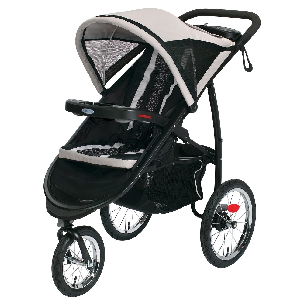 Graco FastAction Fold Jogger Click Connect Stroller - Pierce -  6AM100PCE3