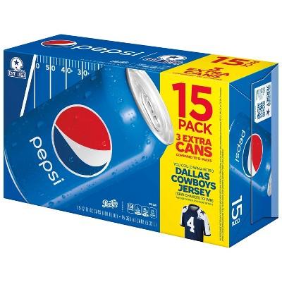 Pepsi - 15pk/12 fl oz Cans