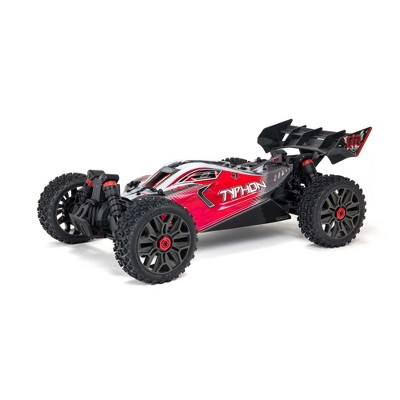 ARRMA RC Car 1/8 TYPHON 4X4 V3 3S BLX Brushless Buggy RTR (Battery and Charger Not Included), Red, ARA4306V3