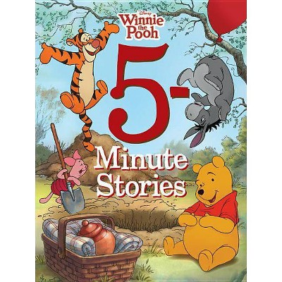 Winnie the Pooh 5-Minute Stories - (5 Minute Stories)(Hardcover)