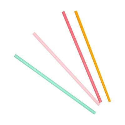 20pk Disposable Party Mixed Straws