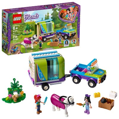 LEGO Friends Mia's Horse Trailer Building Kit with Mia and Stephanie Mini Dolls 41371