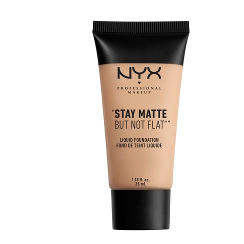 "NYX Professional ""Stay Matte But Not Flat"" Liquid Foundation - Light Shades - image 1 of 3"