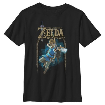 Boy's Nintendo Legend of Zelda Breath of the Wild Arch T-Shirt