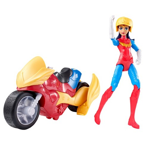 DC Super Hero Girls Wonder Woman Motorcycle and Doll - image 1 of 4