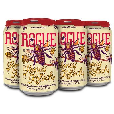 Rogue Honey Kolsch Beer - 6pk/12 fl oz Cans