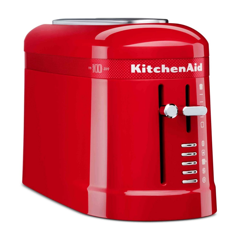 Image of KitchenAid 100 Year Limited Edition Queen of Hearts 2 Slice Toaster Passion Red - KMT3115QHSD