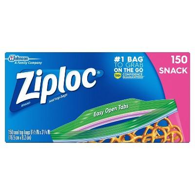 Ziploc Snack Bags - 150ct