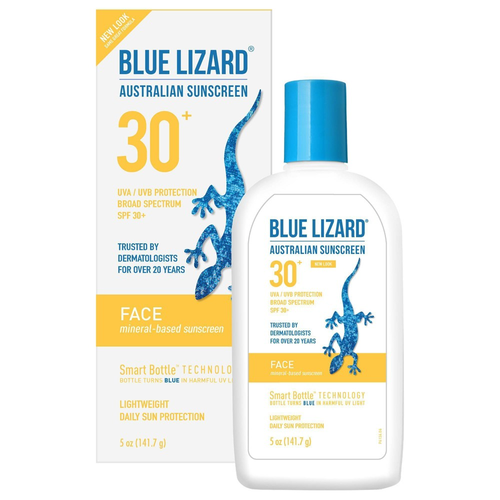 Image of Blue Lizard Face Sunscreen Lotion - SPF 30 - 5 fl oz