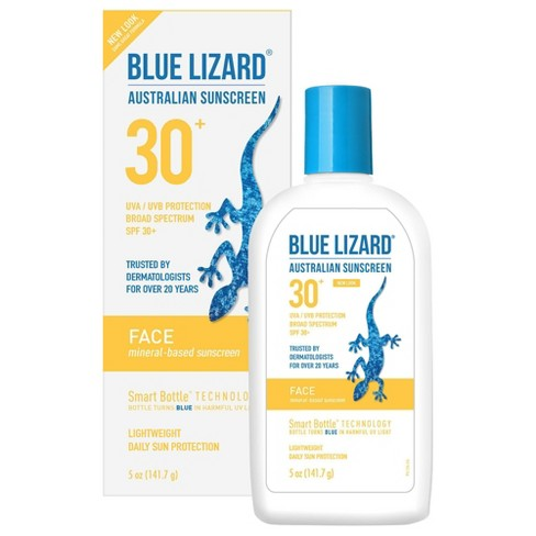 Blue Lizard Face Sunscreen Lotion - SPF 30 - 3oz - image 1 of 4