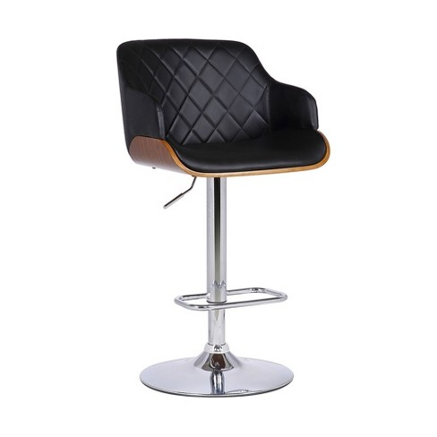 Toby Contemporary Adjustable Barstool - Armen Living - image 1 of 4