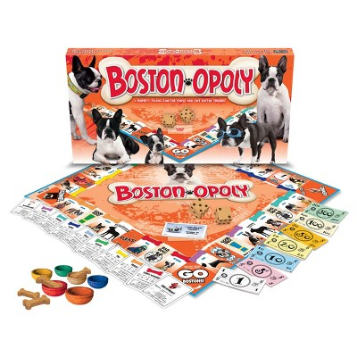 Boston Terrier opoly Game