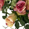 """Nearly Natural 20"""" Rose Wreath - image 2 of 3"""