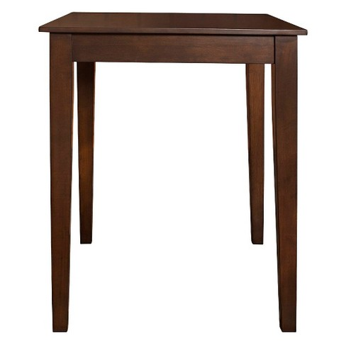 Tapered Leg Pub Table Wood/Mahogany - Crosley - image 1 of 4