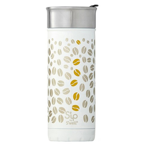 S'ip by S'well 10oz Vacuum Insulated Stainless Steel Portable Travel Beverage Mug - Chalk White - image 1 of 3