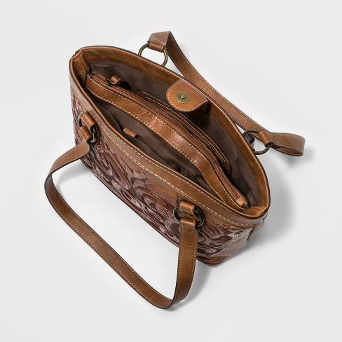 Bolo Botanica Satchel Handbag - Caramel   Target 471b440b4e033