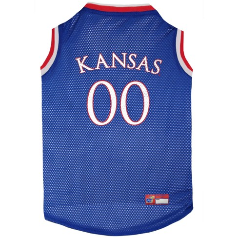 buy online 1dd33 36499 NCAA Pets First Kansas Jayhawks Basketball Jersey - L