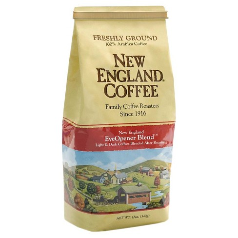 New England Eyeopener Blend Medium Roast Ground Coffee - 9oz - image 1 of 1