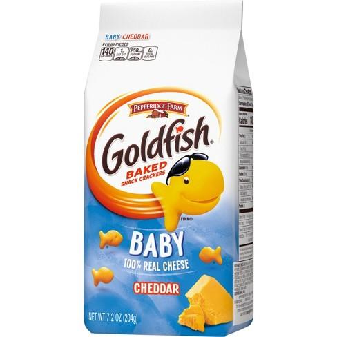 Pepperidge Farm Goldfish Baby Cheddar Crackers - 7.2oz Bag - image 1 of 4