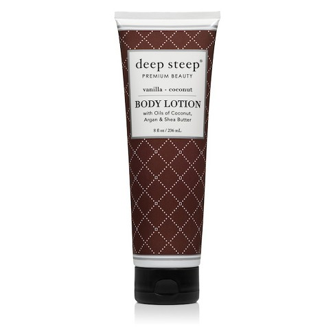 Deep Steep Vanilla Coconut Body Lotion - 8 fl oz - image 1 of 2