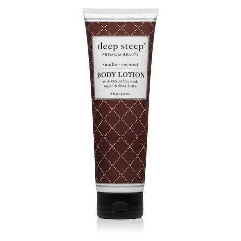 Deep Steep Vanilla Coconut Body Lotion - 8 fl oz - image 1 of 2