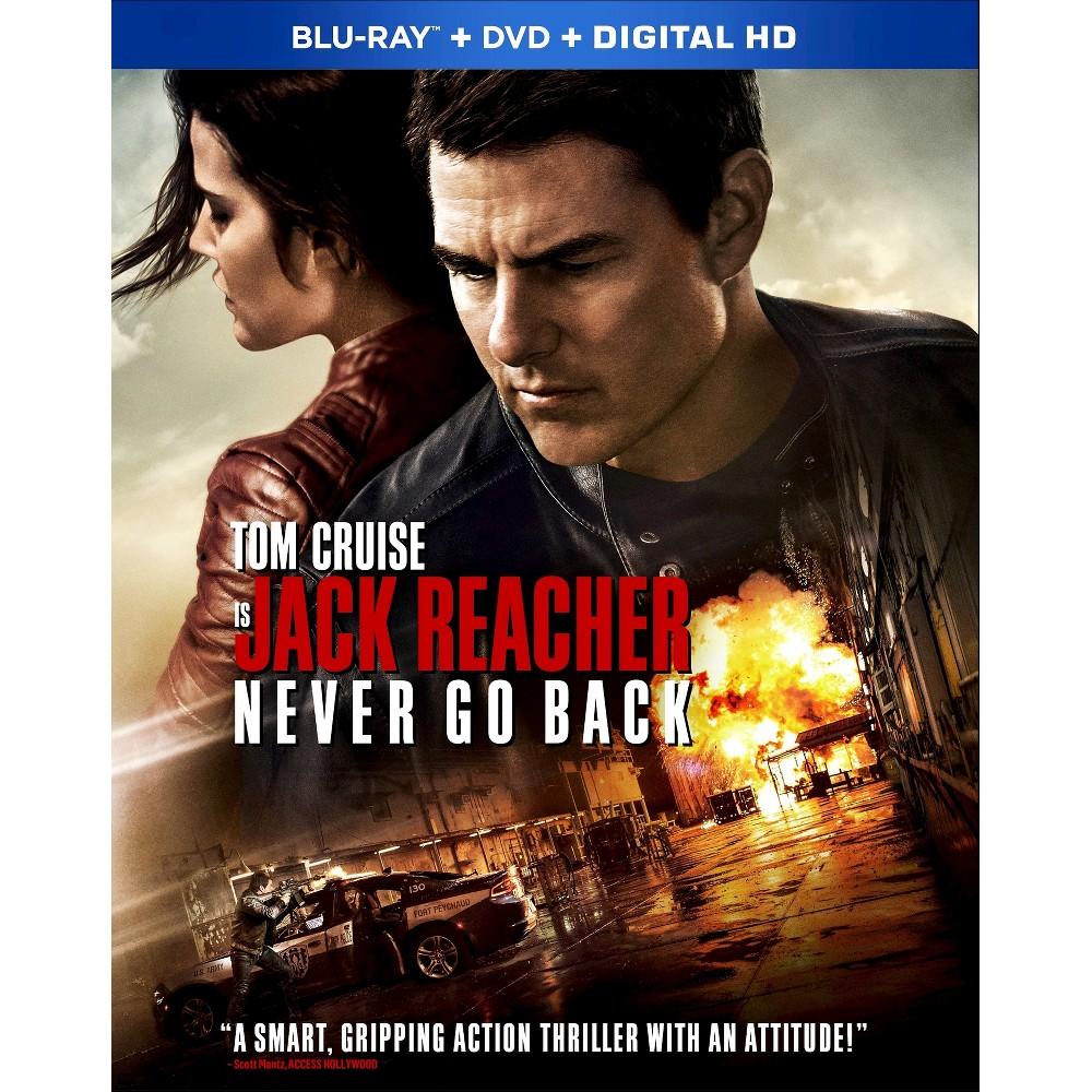 Jack Reacher: Never Go Back (Blu-ray + Digital)