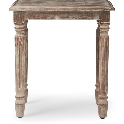Rothko Side Table Distressed Natural - Finch
