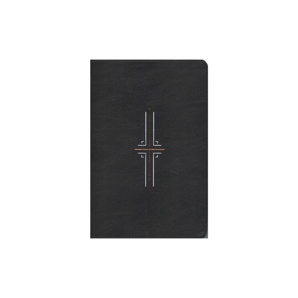 Holy Bible : New Living Translation, Black, LeatherLike: Filament Edition - (Paperback)