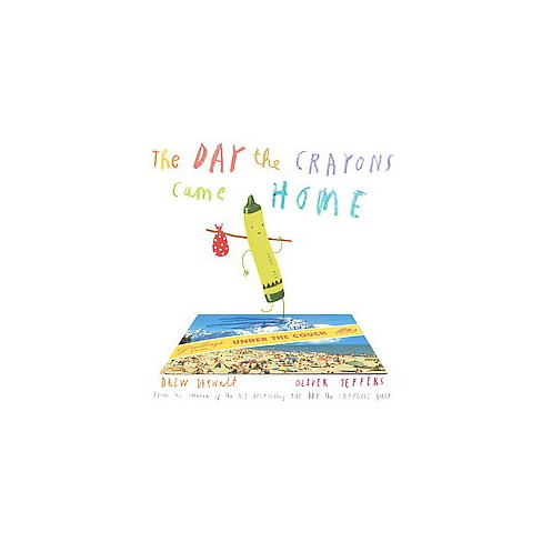 The Day the Crayons Came Home by  Drew Daywalt and Oliver Jeffers (Hardcover) by Drew  Daywalt - image 1 of 2