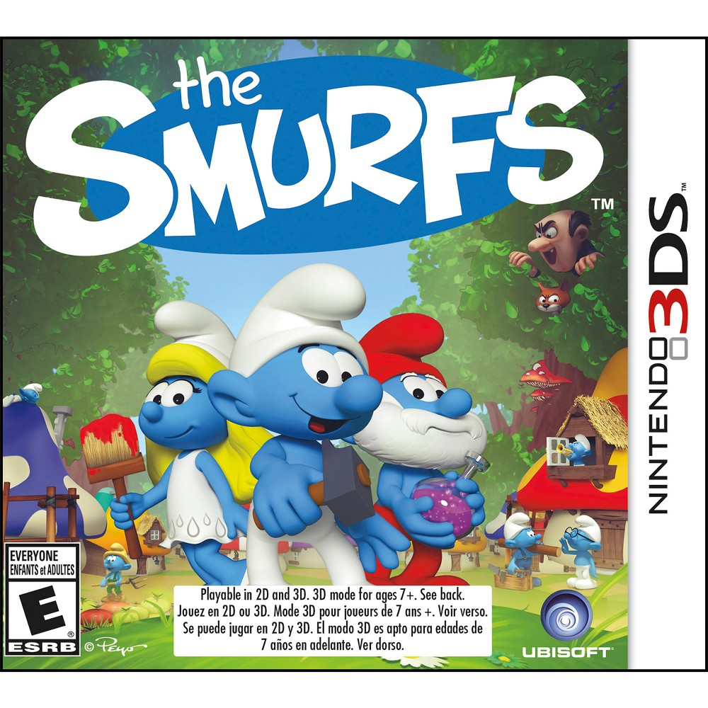 The Smurfs Nintendo 3DS, video games