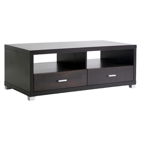 Derwent Coffee Table with Drawers - Baxton Studio - image 1 of 3