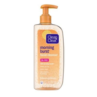 Facial Cleanser: Clean & Clear Morning Burst Facial Cleanser
