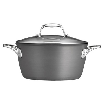 Tramontina 5 Quart Hard Anodized Dutch Oven - Gray