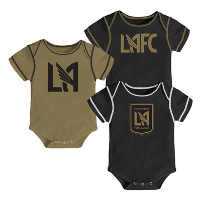 Youngest Fan 3pk Body Suit Set Los Angeles FC 3-6 M