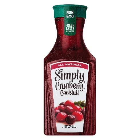 Simply Cranberry Cocktail Juice - 52 fl oz - image 1 of 3