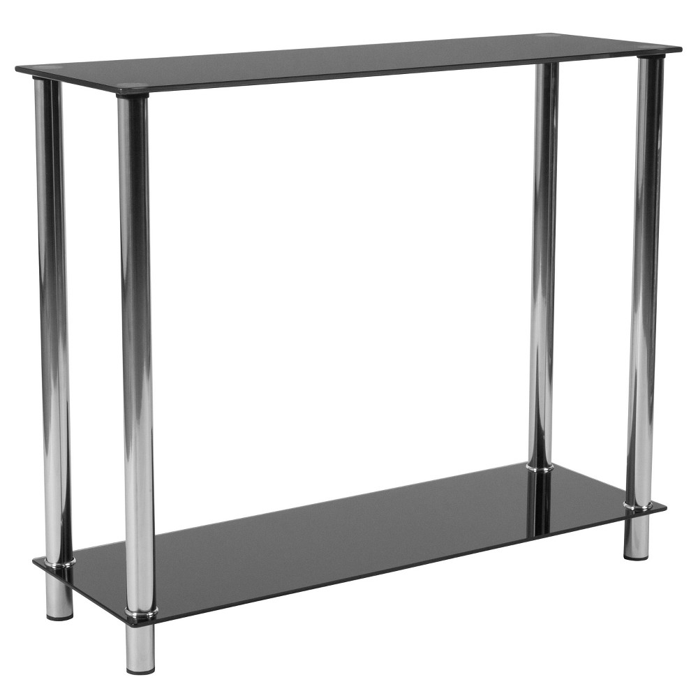 Image of Riverside Console Table Black - Riverstone Furniture