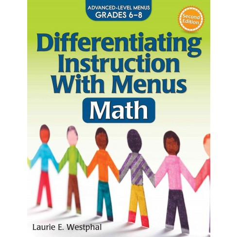 Differentiating Instruction With Menus Math Advanced Level Menus