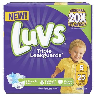 Diapers: Luvs Ultra Leakguard