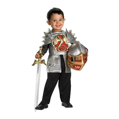 Toddler Knight Of The Dragon Halloween Costume 3T-4T