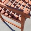 Vifah Outdoor Wooden Armchair - Brown - image 4 of 4