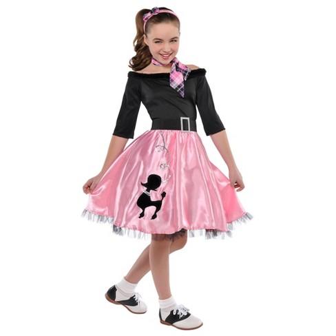 Kids' Miss Sock Hop Halloween Costume - image 1 of 1