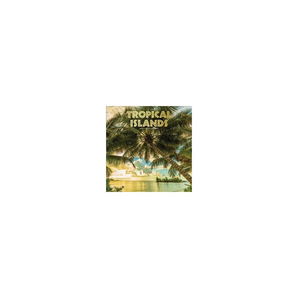 Tropical Islands 2019 Calendar - (Paperback)