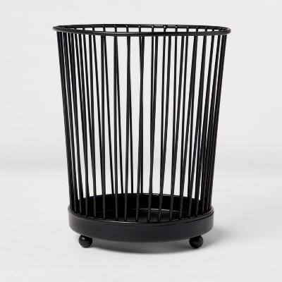 Iron Wire Utensil Holder Black - Threshold™