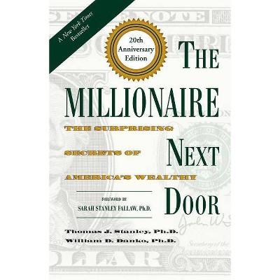 The Millionaire Next Door - 20th Edition by  Thomas J Stanley & William D Danko (Hardcover)