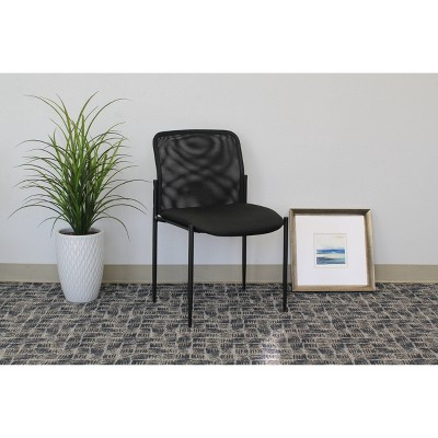 Mesh Guest Chair Black - Boss Office Products : Target
