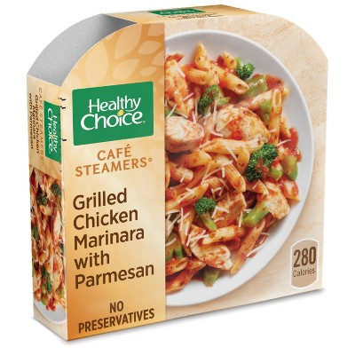 Healthy Choice Café Steamers Frozen Grilled Chicken Marinara with Parmesan - 10oz